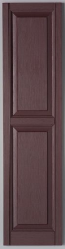 Richwood Winestone 12x35 Raised Panel Shutter Pair