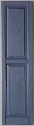 Richwood Blue 15x47 Raised Panel Shutter Pair